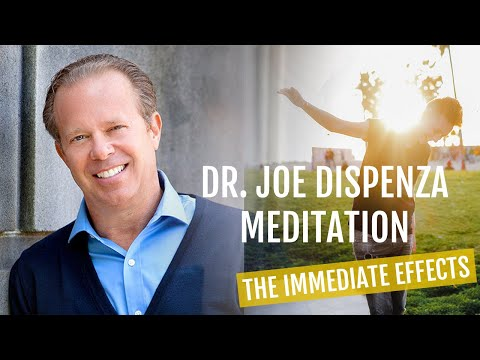 DR  JOE DISPENZA MEDITATION: The IMMEDIATE Effects (amazing!) - YouTube