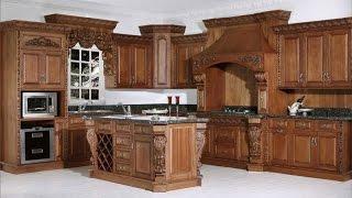 видео Кухня из дерева под заказ