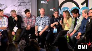 Katy Chevigny, Ross Kauffman, T. Griffin at the 2014 BMI Sundance Composer Director Roundtable