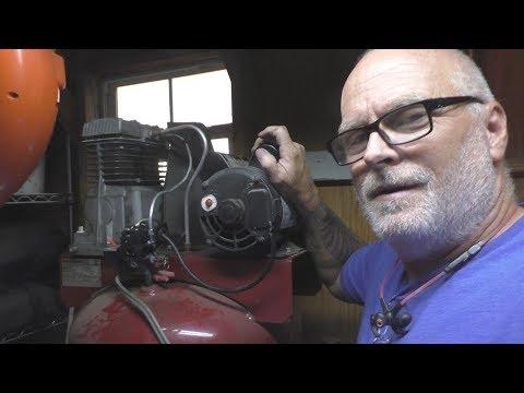Air Compressor Repair - Pressure Switch, Unloader, And Check Valve