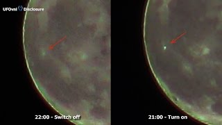 Building or UFO ? Light Turn On & Switch Off On Aristarchus Moon