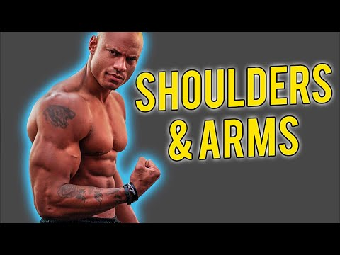 Want Bigger Shoulders & Arms? Watch This!