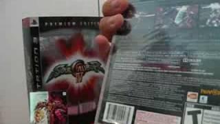 Unboxing Soul Calibur 4 Premium edition