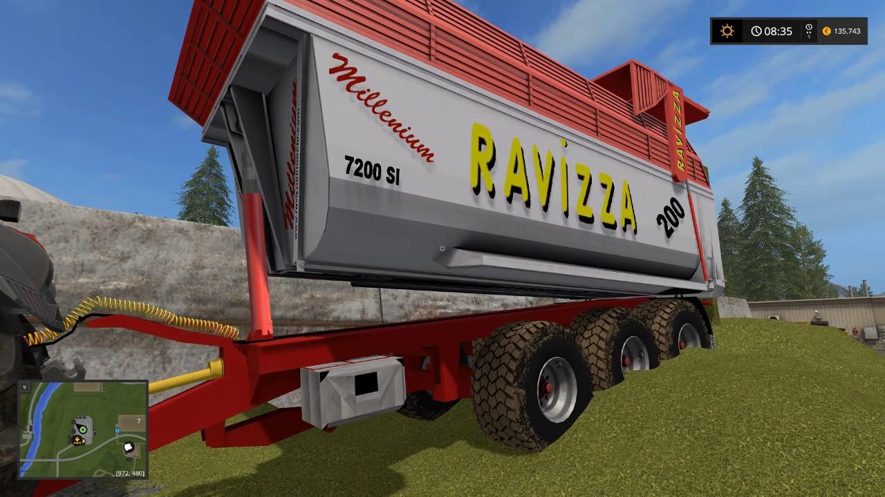 Farming simulator 17 test mod ravizza by vitali youtube for Ravizza rimorchi