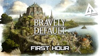 Bravely Default Gameplay - First Hour Walkthrough | Bravely Default Gameplay Part 1