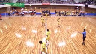 H26年 第23回JOCハンドボール大会岩手VS熊本(ダイジェスト)(男子予選リーグ)