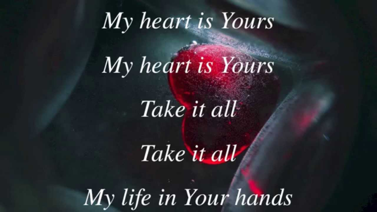 P Ion Kristian Stanfill My Heart Is Yours With Lyrics  You