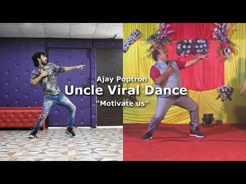 Aap Ke Aa Jane Se Viral Dabbu Uncle Dance performance | Govinda's Song |Cover by Ajay Poptron