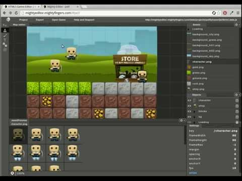 Creating a mini-game with MightyEditor and Phaser
