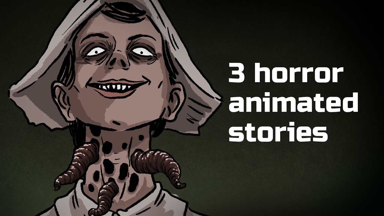 3 Terrible Urban legends Horror Stories Animated