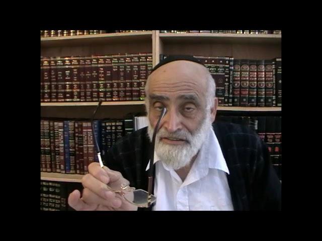 עניין איסור נידה והלכותיה חלק 2 - הרב יוסף שני שליט