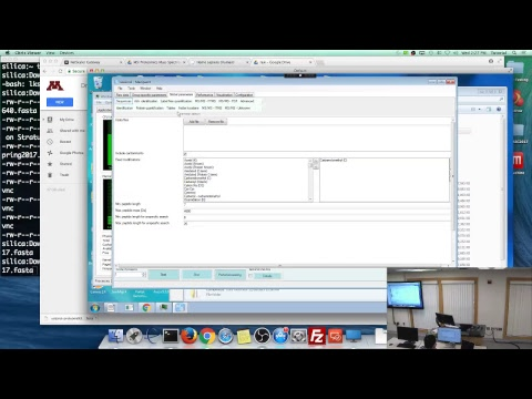 LIVE MSI Tutorial: Proteomics Mass Spectrometry Data Analysi