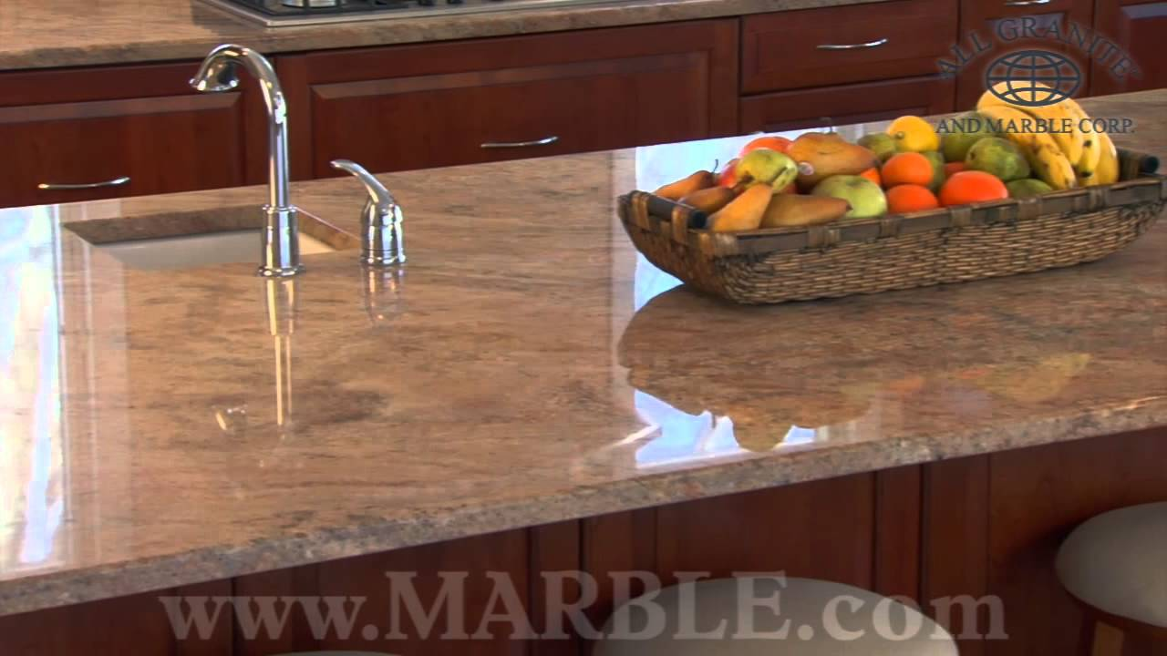 Vyara Gold Granite Kitchen Countertops By Youtube