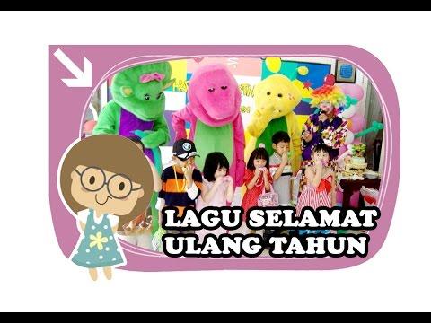 LAGU SELAMAT ULANG TAHUN | LIRIK LAGU HAPPY BIRTHDAY | VIDEO LAGU ANAK INDONESIA