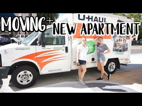FINALLY IN MY NEW APARTMENT + MANIFESTING ANOTHER JOB  Moving Vlog  Renee Amberg