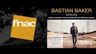 BASTIAN BAKER Showcase FNAC Genève et Lausanne