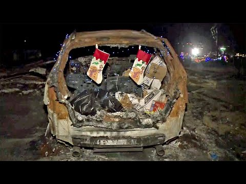 North Bay Fire Victims Celebrate Christmas In Burned-Out Coffey Park