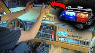 Turning my Jeep into a COP CAR (SO ILLEGAL)   AuxBeam