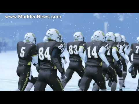 NCAA Football 12 Wyoming Team Entrance