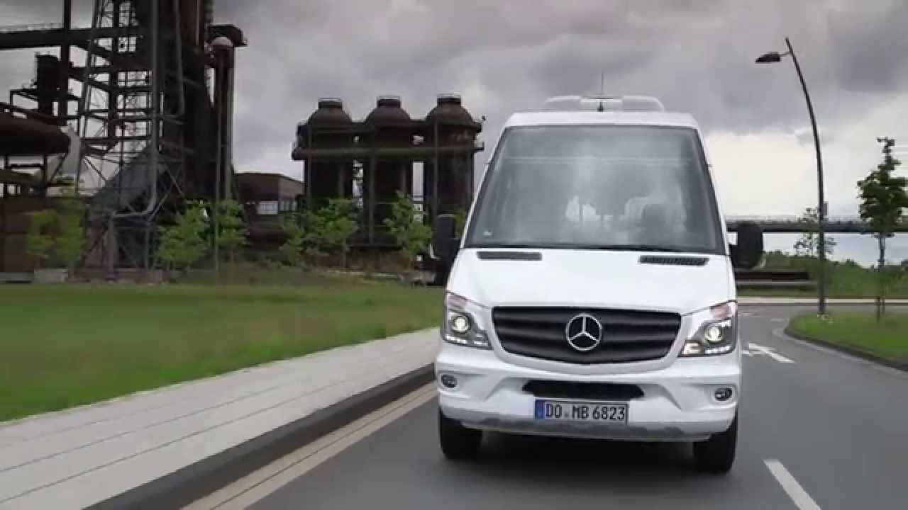 Mercedes benz sprinter city 77 youtube for Mercedes benz city