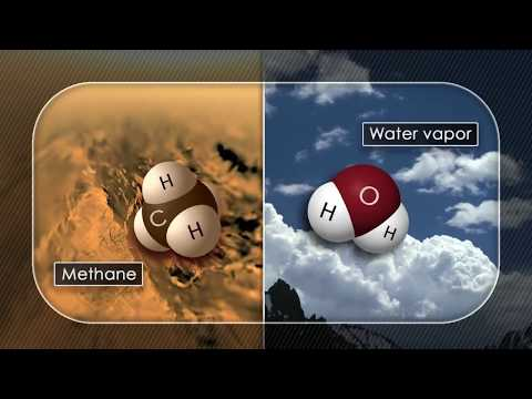 Molecule in Common Plastic Discovered on Titan | Video