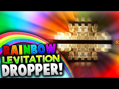 REVERSE RAINBOW DROPPER! (Minecraft)