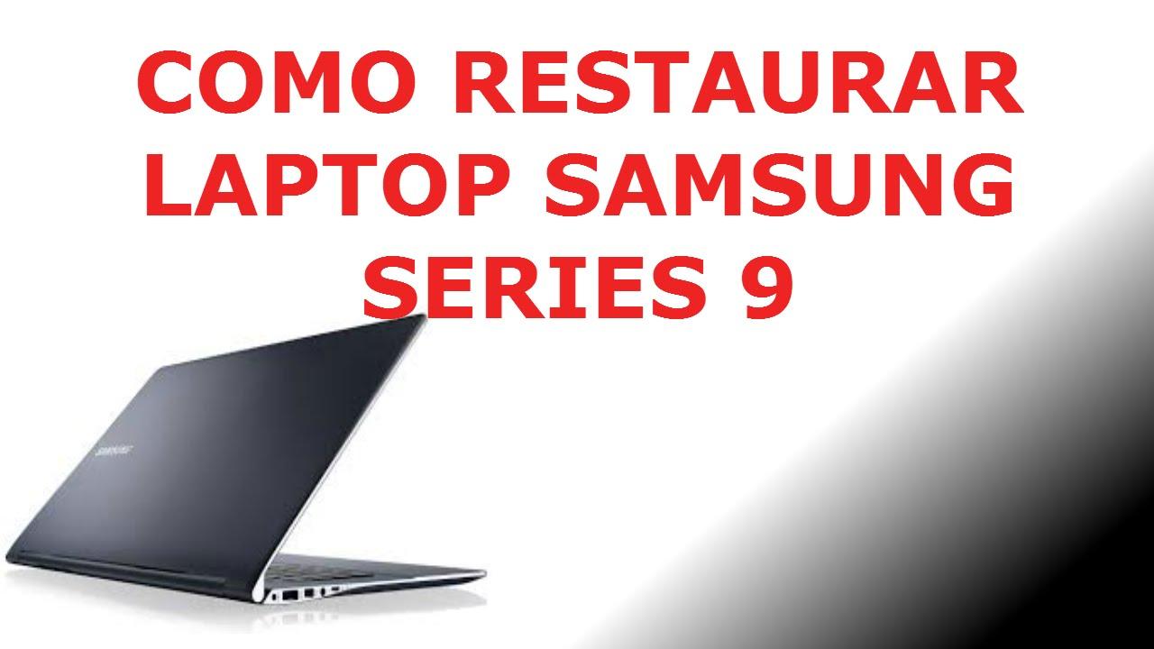 Laptop samsung 300e precio mexico - Como Formatear Restauraci N De Fabrica Laptop Samsung Series 9 Youtube