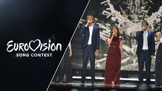 Boggie - Wars For Nothing (Hungary) - LIVE at Eurovision 2015: Semi-Final 1