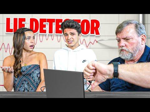 Lie Detector Test on Brent Rivera & Pierson Wodzynski!! - Amp World