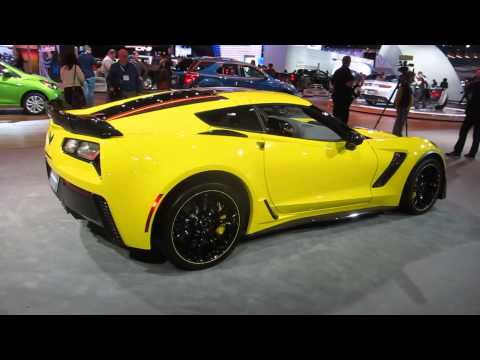 Luxury Chevrolet Corvette C7R Special Edition At 2015 LA Auto Show