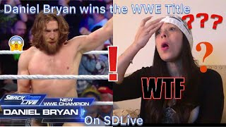 Daniel Bryan Wins WWE Title AND turns heel!!!! | Demon Diva Reacts