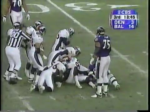 2000 AFC Wildcard Broncos at Ravens Dec 31, 2000 (Part 2 of 2)