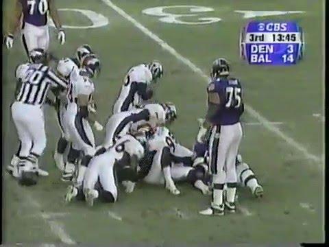 2000 AFC Wildcard Broncos at Ravens Dec 31, 2000 (Part 2 of 2)