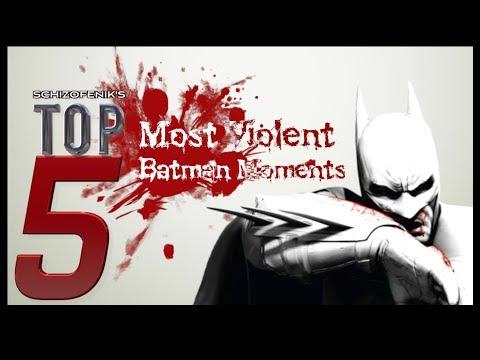 Top 5 Most Violent Batman Moments in a Graphic Novel
