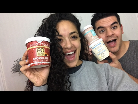 First YouTube Live: Taste Testing the Newest Enlightened Ice Cream Flavors!