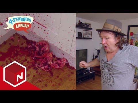 Charter-Svein kaster granateple i veggen   4-stjerners middag   TVNorge