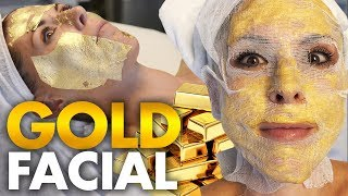 Trying the 24k Gold Korean Facial?!