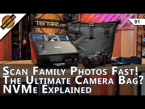 Dump AdBlock Plus! Epson FastFoto FF-640 Review, Peak Design Everyday Tote, NVMe & XPoint Explained!
