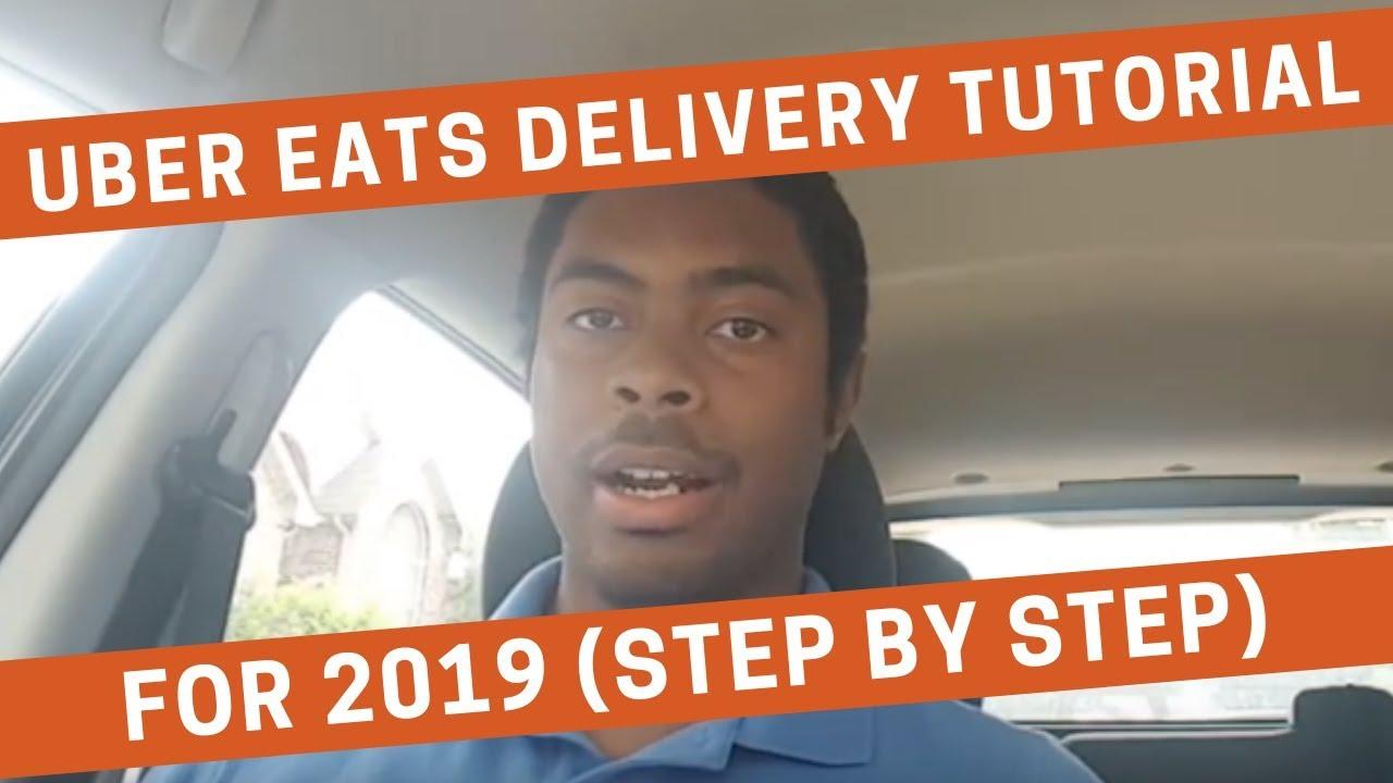 uber eats driver app tutorial 2019