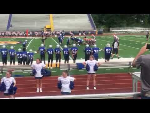 West Thibodaux Middle School #6 interception
