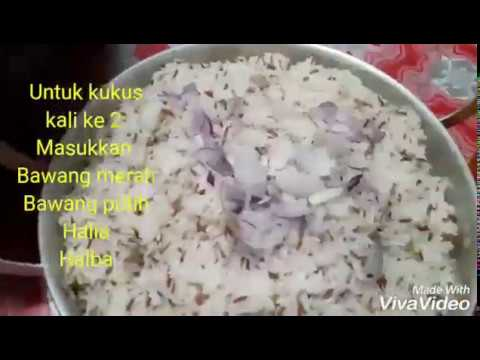 Cara masak Nasi Dagang / Resipi Mudah buat Nasi Dagang / How to cook Nasi Dagang Step by Step