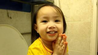 kam answers questions on potty.MOV