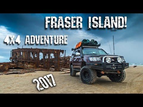 Fraser Island 4X4 Adventure 2017
