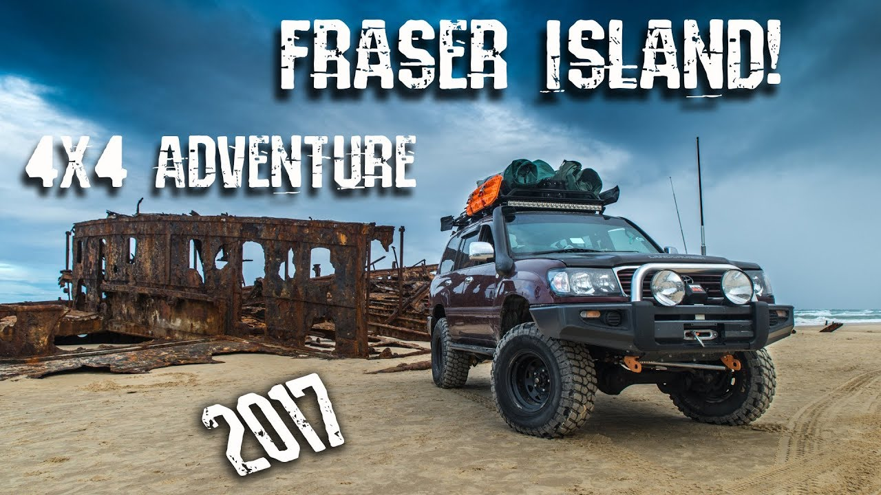 fraser island 4x4 adventure 2017 youtube. Black Bedroom Furniture Sets. Home Design Ideas