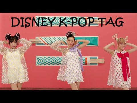 [K-POP TAG] Disney K-Pop Tag
