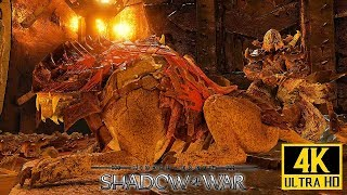 "Middle Earth: Shadow of War - Fortress Assault ""Overlord"" Battle 4K PC @ 2160p (60ᶠᵖˢ) ✔"