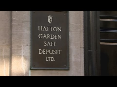 Hatton Garden Jewellery heist - seven suspects arrested