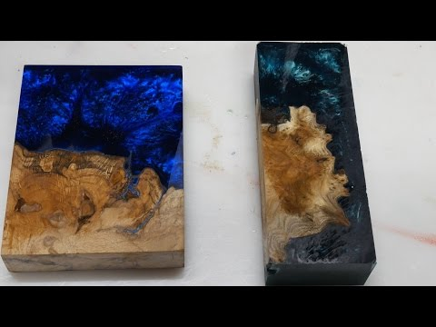 "Casting Burl ""Worthless Wood"" Blanks with Alumilite (Giveaway)*ENDED*"