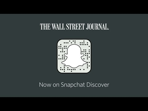 The Wall Street Journal on Snapchat Discover