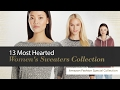 13 Most Hearted Women's Sweaters Collection Amazon Fashion Special Collection